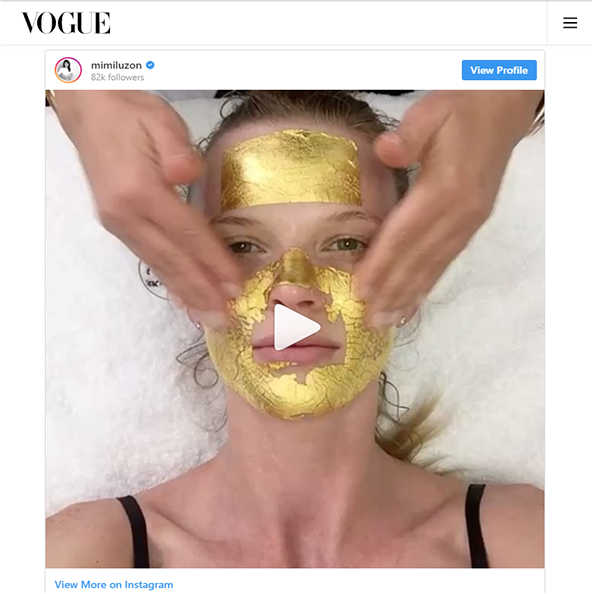 24K Pure Gold One Treatment